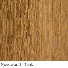 Persiana Vertical PVC Coleção Novowood