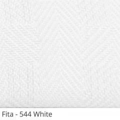 Persiana Horizontal 50mm Madeira Natural com Fita Decorativa