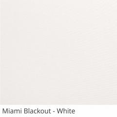 Cortina Rolô Branca Tecido Blackout Coleção Miami Cor White