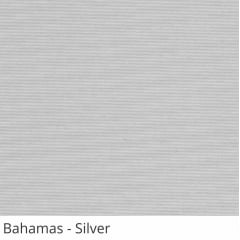 Cortina Rolô Cinza Tecido Translúcido Coleção Bahamas Cor Silver