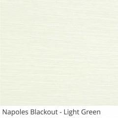 Cortina Romana Verde Tecido Blackout Coleção Nápoles Cor Light Green