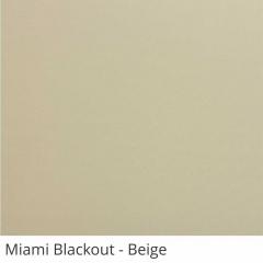 Cortina Romana Bege Tecido Blackout Coleção Miami Cor Beige