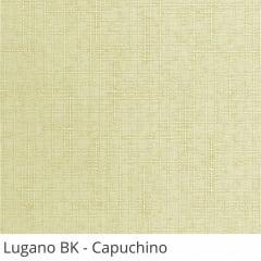Cortina Romana Bege Tecido Blackout Coleção Lugano Cor Capuchino