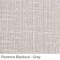 Cortina Romana Cinza Tecido Blackout Coleção Florence Cor Grey