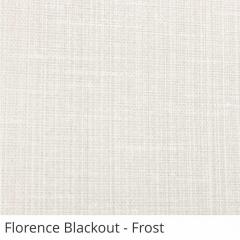 Cortina Romana Cinza Tecido Blackout Coleção Florence Cor Frost
