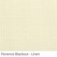 Cortina Romana Bege Tecido Blackout Coleção Florence Cor Linen