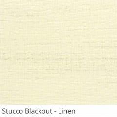 Cortina Romana Bege Tecido Blackout Coleção Stucco Cor Linen
