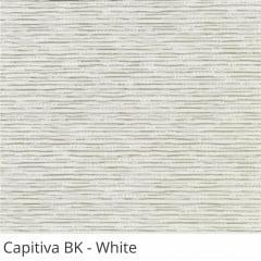Cortina Romana Branca Tecido Blackout Coleção Capitiva Cor White