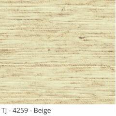 Cortina Romana Bege Tecido Translúcido Coleção TJ 4259 Cor Beige