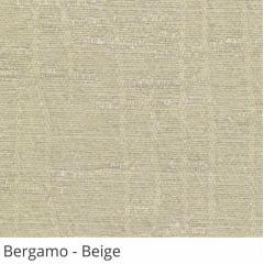 Cortina Romana Bege Tecido Translúcido Coleção Bergamo Cor Beige