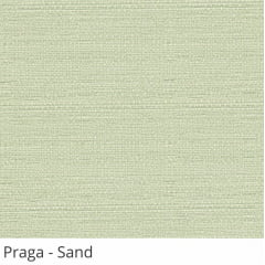 Cortina Romana Cinza Tecido Translúcido Coleção Praga Cor Sand