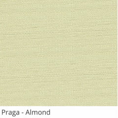 Cortina Romana Tecido Praga Bege Almond