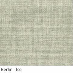 Cortina Romana Cinza Tecido Translúcido Coleção Berlin Cor Ice