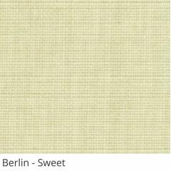Cortina Romana Bege Tecido Translúcido Coleção Berlin Cor Sweet