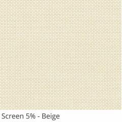 Cortina Painel Bege Tecido Tela Solar Coleção Screen 5% Cor Beige