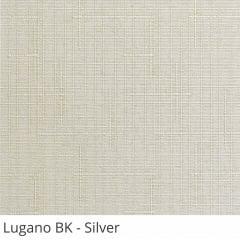 Cortina Painel Cinza Tecido Blackout Coleção Lugano Cor Silver