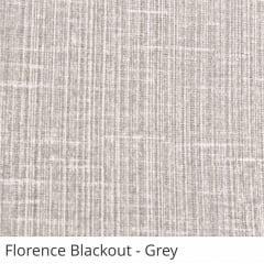 Cortina Painel Cinza Tecido Blackout Coleção Florence Cor Grey