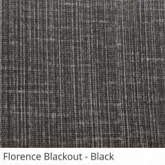 Cortina Painel Preta Tecido Blackout Coleção Florence Cor Black