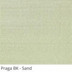 Cortina Painel Cinza Tecido Blackout Coleção Praga Cor Sand