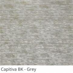 Cortina Painel Cinza Tecido Blackout Coleção Capitiva Cor Grey