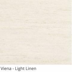 Cortina Painel Natural Tecido Translúcido Coleção Viena Cor Light Linen