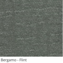 Cortina Painel Cinza Tecido Translúcido Coleção Bergamo Cor Flint