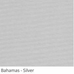 Cortina Painel Cinza Tecido Translúcido Coleção Bahamas Cor Silver