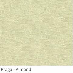 Cortina Painel Bege Tecido Translúcido Coleção Praga Cor Almond