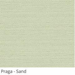 Cortina Painel Cinza Tecido Translúcido Coleção Praga Cor Sand