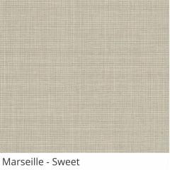 Cortina Painel Cinza Tecido Translúcido Coleção Marseille Cor Sweet