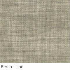 Cortina Painel Cinza Tecido Translúcido Coleção Berlin Cor Lino