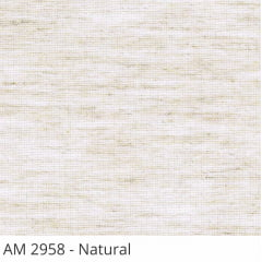 Cortina Painel Tecido AM 2958 Natural