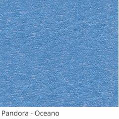 Persiana Vertical Azul Claro Tecido Translúcido Coleção Pandora Cor Oceano