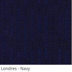 Persiana Vertical Azul Marinho Tecido Translúcido Coleção Londres Cor Navy
