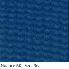 Persiana Vertical Azul Tecido Blackout Coleção Nuance Cor Azul Real
