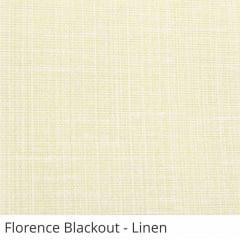 Cortina Rolô Blackout Tecido Florence Bege Linen
