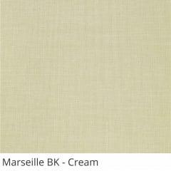 Cortina Rolô Blackout Tecido Marseille Bege Cream