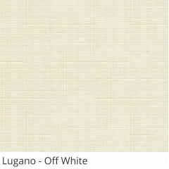 Cortina Rolô Off White Tecido Translúcido Coleção Lugano Cor Off White