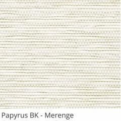 Persiana Vertical Bege Tecido Blackout Coleção Papyrus Cor Merenge