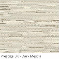 Persiana Vertical Bege Tecido Blackout Coleção Prestige Cor Dark Mescla