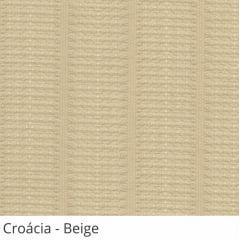 Persiana Vertical Bege Tecido Translúcido Coleção Croácia Cor Beige
