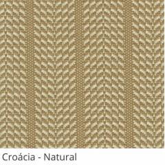 Persiana Vertical Bege Tecido Translúcido Coleção Croácia Cor Natural