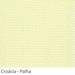 Persiana Vertical Bege Tecido Translúcido Coleção Croácia Cor Palha