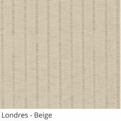 Persiana Vertical Bege Tecido Translúcido Coleção Londres Cor Beige