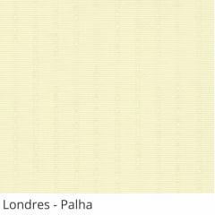 Persiana Vertical Bege Tecido Translúcido Coleção Londres Cor Palha