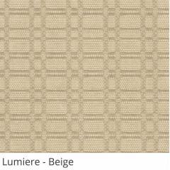 Persiana Vertical Bege Tecido Translúcido Coleção Lumiere Cor Beige