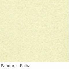Persiana Vertical Bege Tecido Translúcido Coleção Pandora Cor Palha