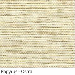 Persiana Vertical Bege Tecido Translúcido Coleção Papyrus Cor Ostra