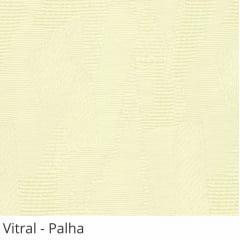 Persiana Vertical Bege Tecido Translúcido Coleção Vitral Cor Palha