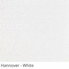 Cortina Rolô Branca Tecido Blackout Coleção Hannover Cor White